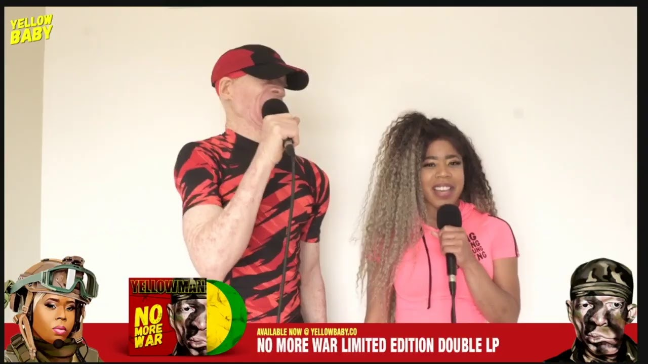 Yellowman feat. K'reema & The Sagittarius Band - No More War Live Stream [7/25/2020]