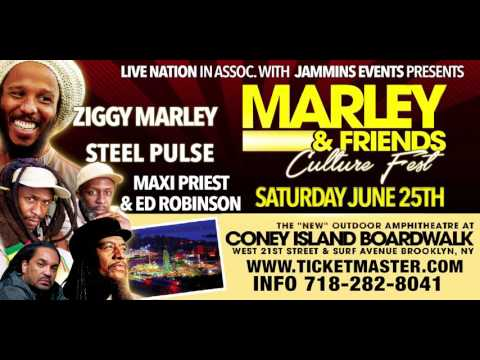 Ziggy Marley & Friends Culture Fest 2016 (Trailer) [4/23/2016]