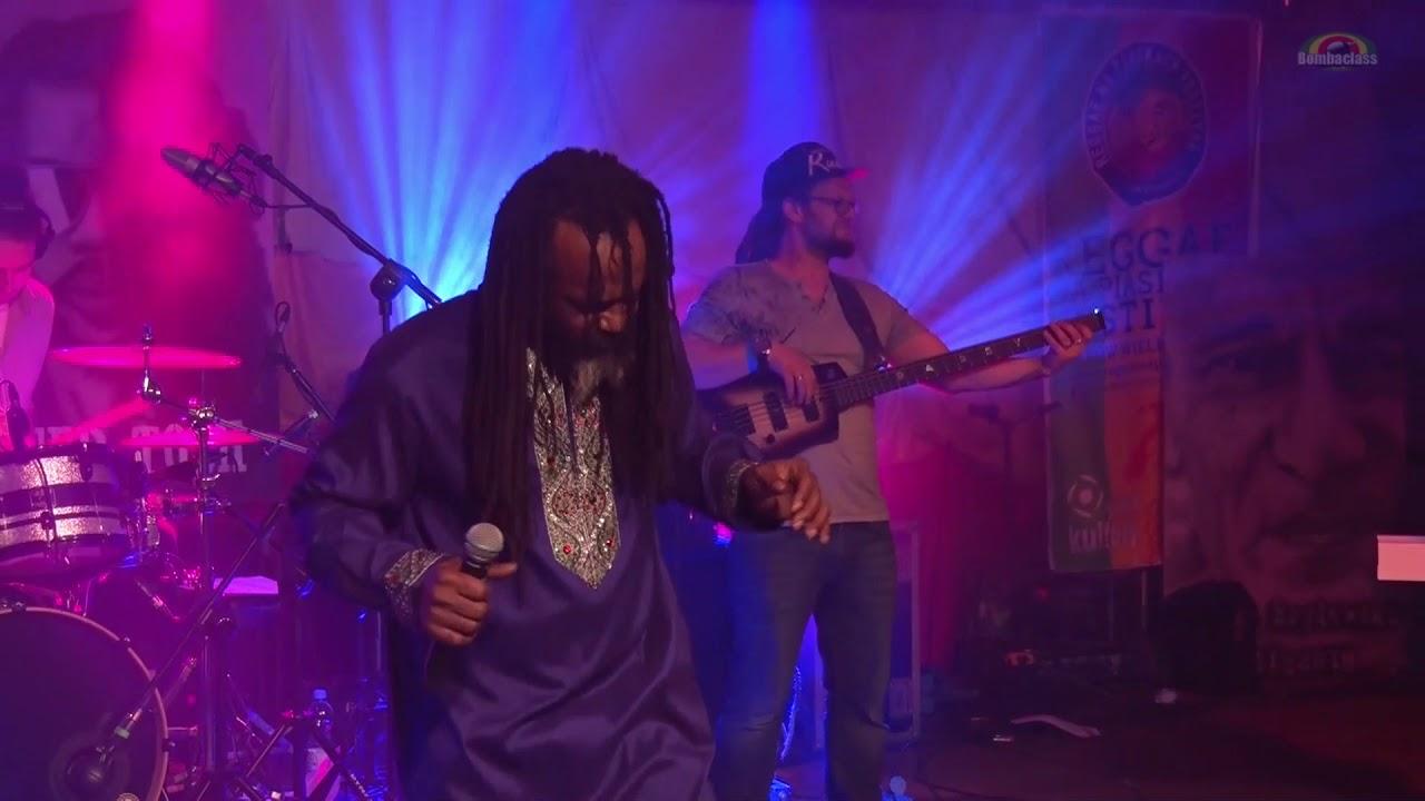 Andrew Tosh - Peter Tosh Tribute @ Reggae na Piaskach 2018 [7/21/2018]