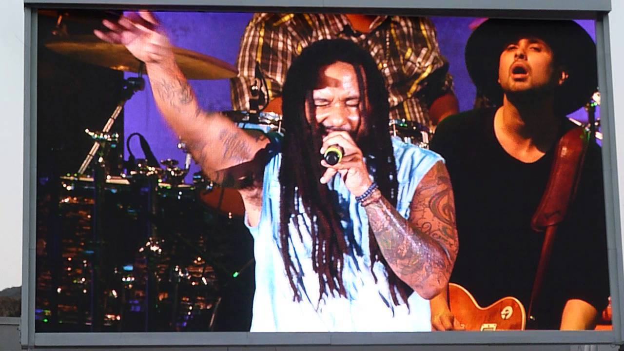 Ky-Mani Marley - Hey @ Reggae Night XV [6/26/2016]