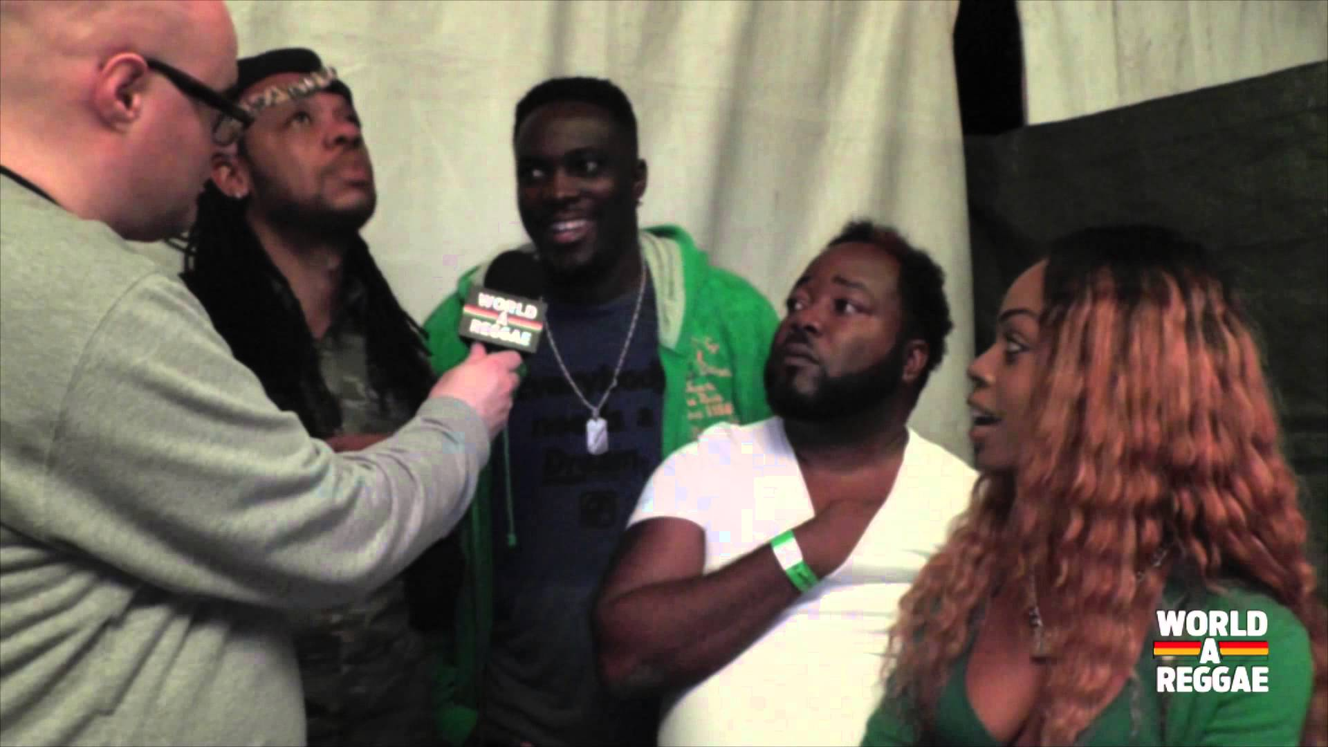 Interview With Ward 21 @ Smile - Antwerp Festival 2014 [7/12/2014]