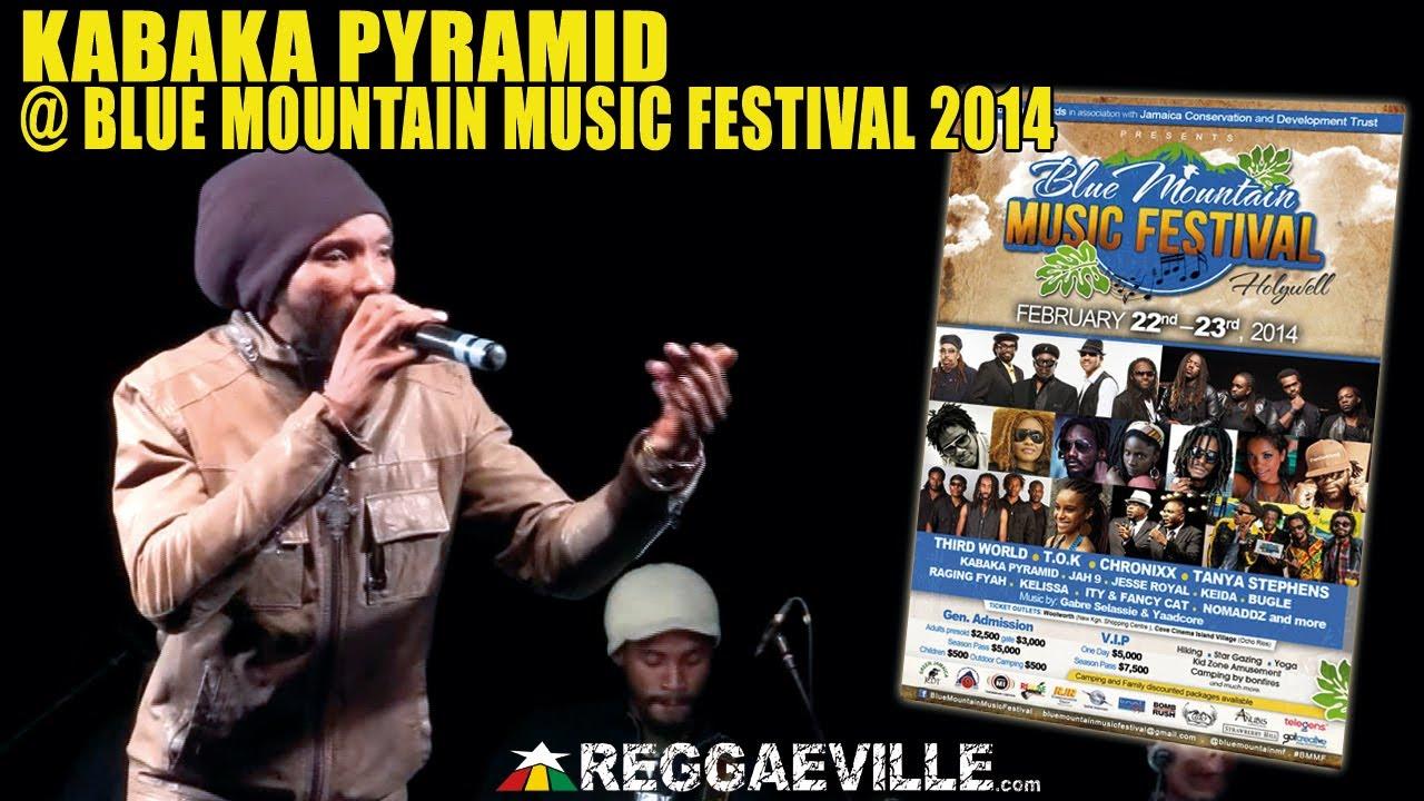 Kabaka Pyramid @ Blue Mountain Music Festival 2014 [2/22/2014]