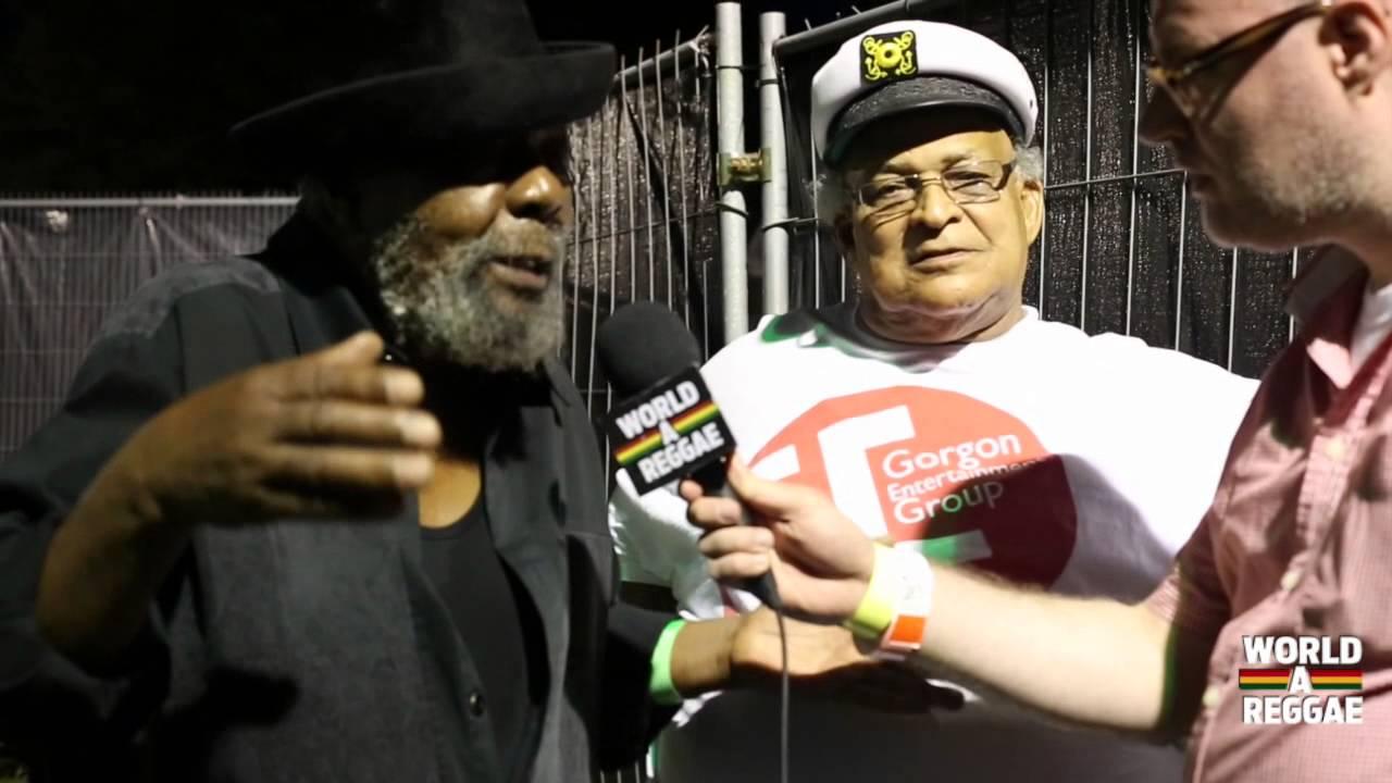 Interview with U Roy & Bunny Striker Lee @ Reggae Geel 2014 [8/2/2014]