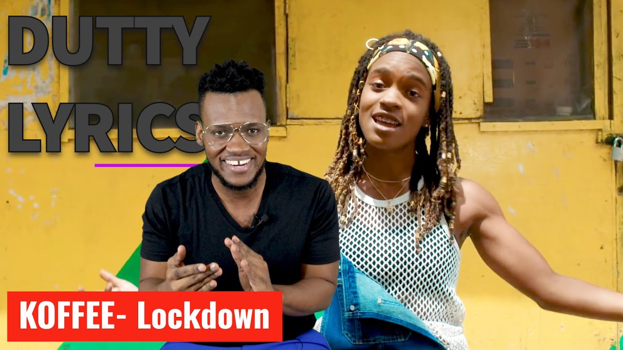 Koffee - Lockdown (Lyric Review ) | Dutty Lyrics [7/23/2020]