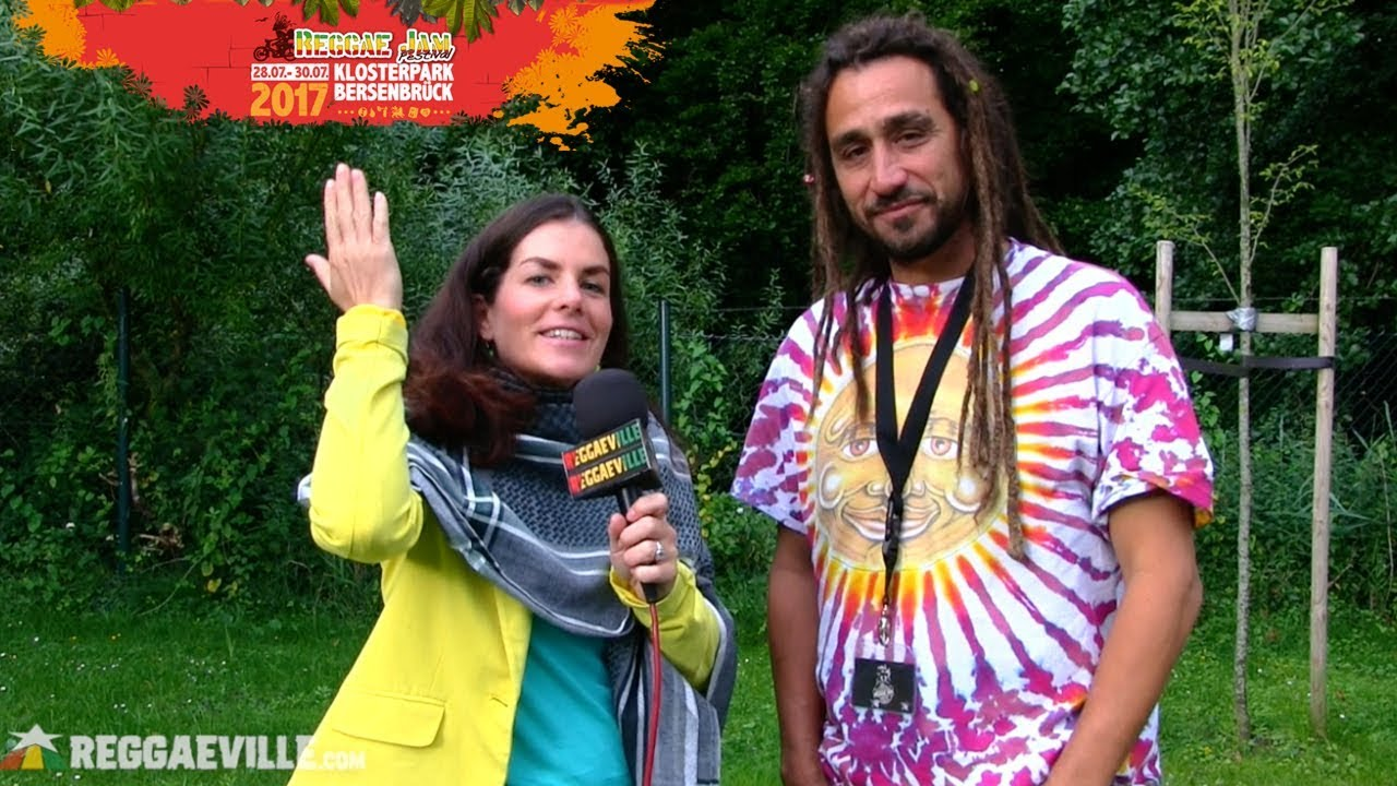 Big Mountain - Interview with Quino @ Reggae Jam 2017 [7/29/2017]