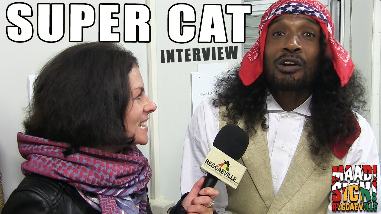 Interview with Super Cat @Reggae Geel 2015 [8/1/2015]