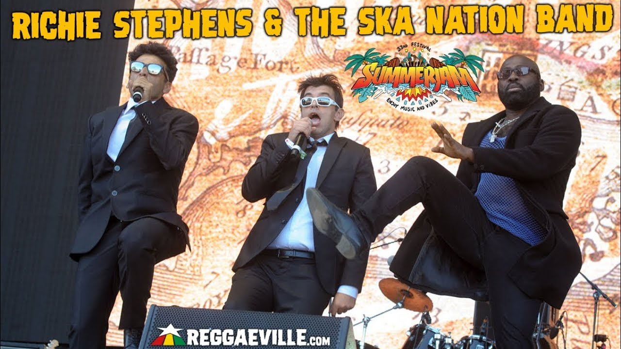 Richie Stephens & The Ska Nation Band in Cologne, Germany @ SummerJam 2018 [7/8/2018]