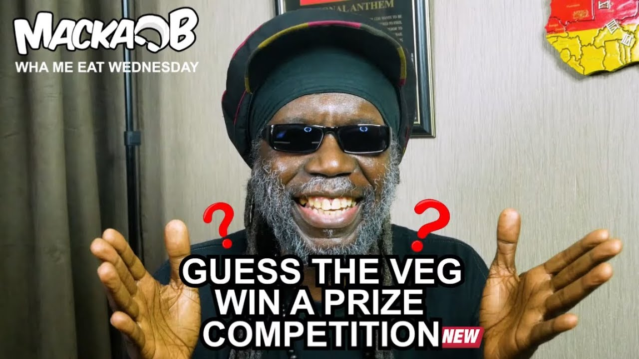 Macka B's Wha Me Eat Wednesdays - Guess The Veg Win A Prize Competition [5/8/2019]