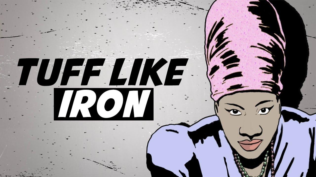 Queen Omega & Iron Dubz - Tuff Like Iron (Lyric Video) [1/24/2020]