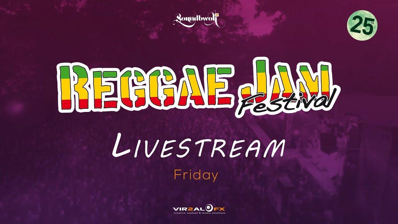 Reggae Jam 2018 - Live Stream (Day One) [8/3/2018]
