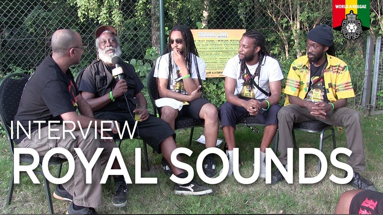 Royal Sounds Interview by World A Reggae @ Reggae Jam 2019 [11/5/2019]
