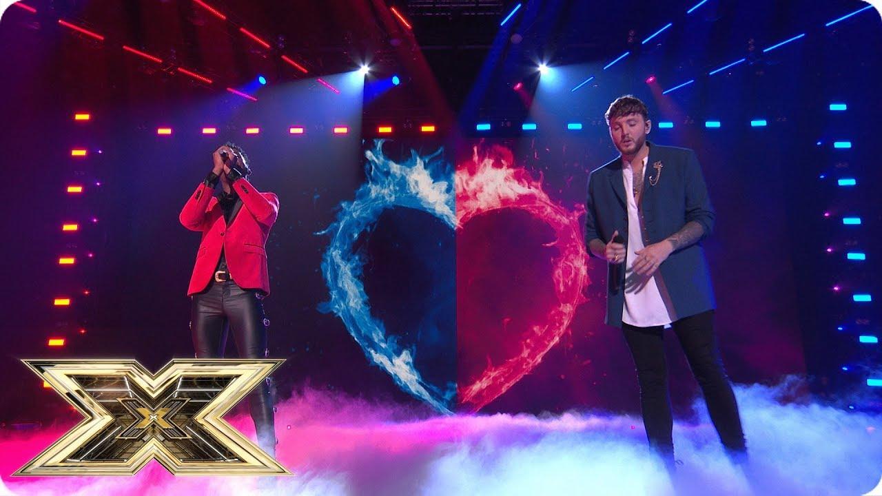 Dalton Harris & James Arthur - Power of Love @ X Factor UK 2018 Final [12/2/2018]