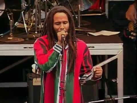 Ziggy Marley & the Melody Makers in Mountain View, CA, USA [9/3/1995]