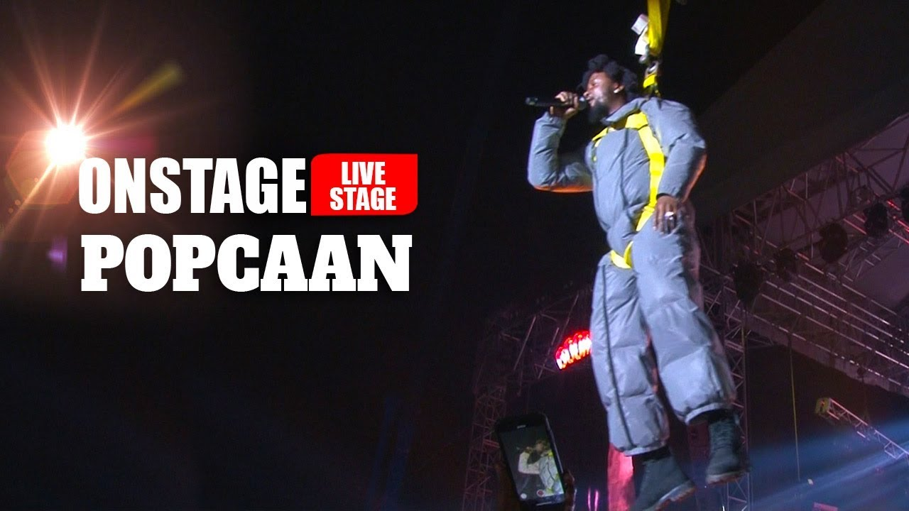 Popcaan Literally Flies Onto His Unruly Fest 2019 Stage (Onstage TV) [12/21/2019]