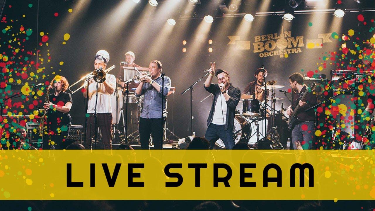 Berlin Boom Orchestra & Team Rub-a-Dub Berlin @ Festsaal Kreuzberg (Live Stream) [11/7/2020]