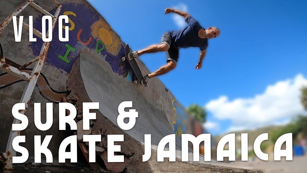 Ras Kitchen - Surf Skate Jamaica Vlog [6/19/2020]