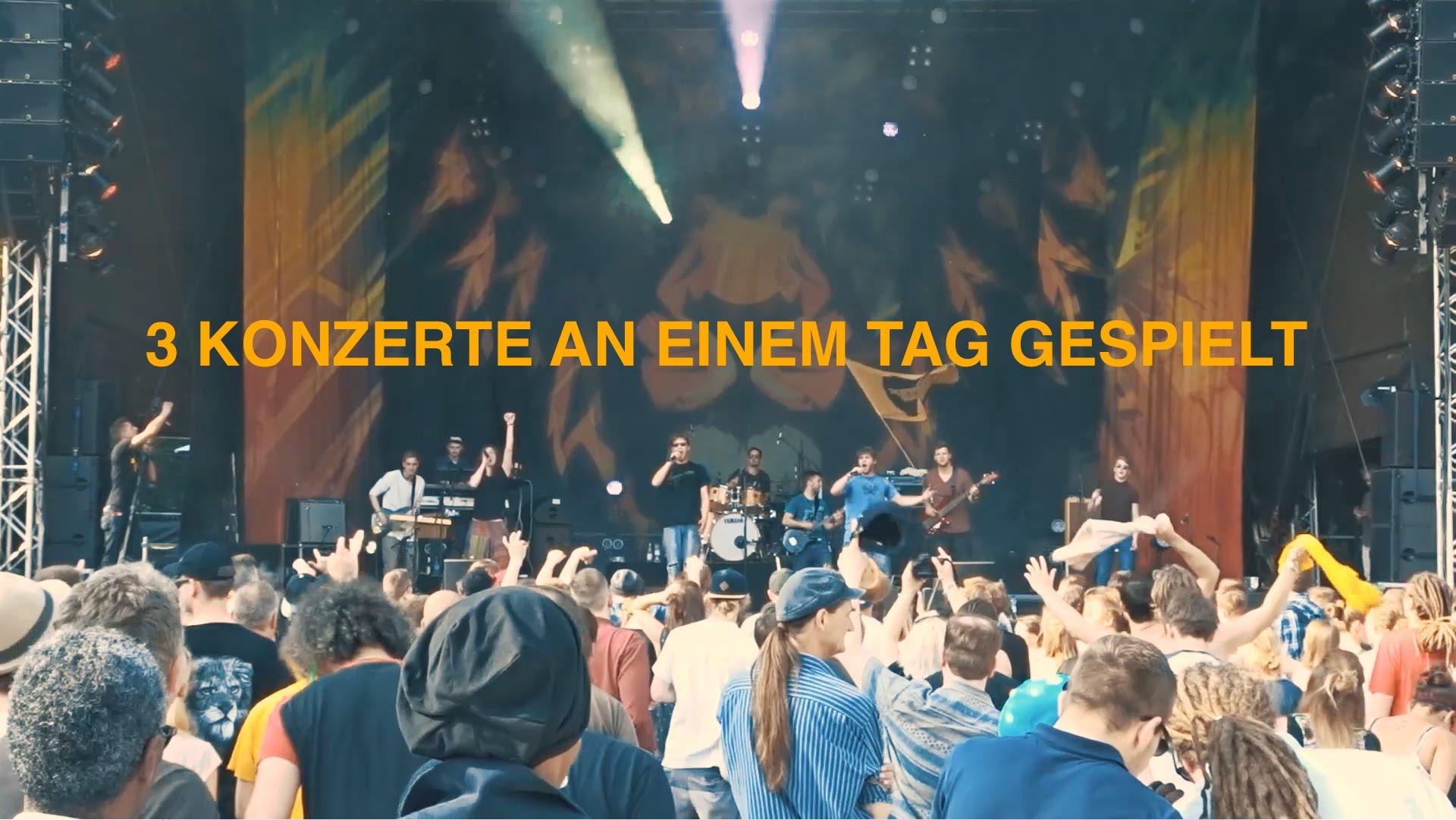 Skankin Sun @ Ruhr Reggae Summer - Dortmund 2016 [5/27/2016]