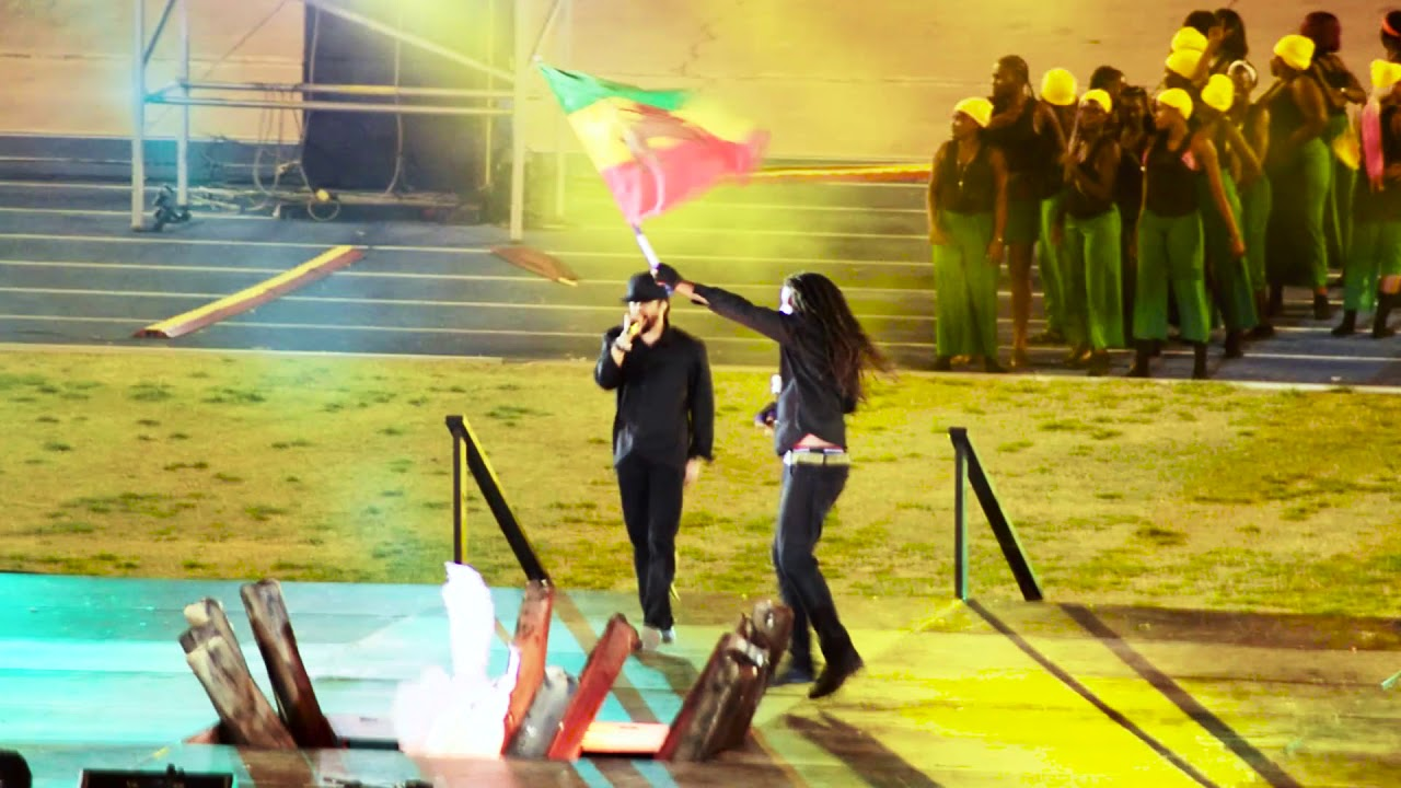 Damian Junior Gong Marley @ Jamaica 56 Independence Grand Gala (Fan Video) [8/6/2018]