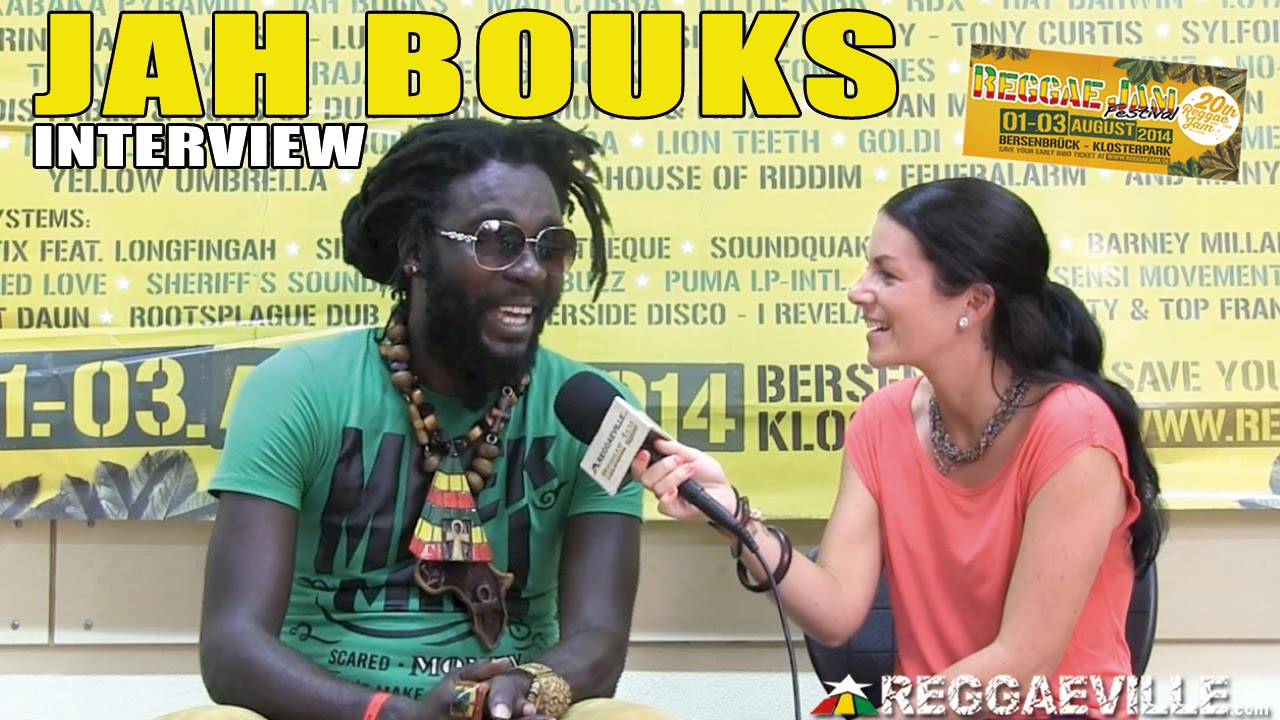 Interview with Jah Bouks @ Reggae Jam 2014 [8/3/2014]