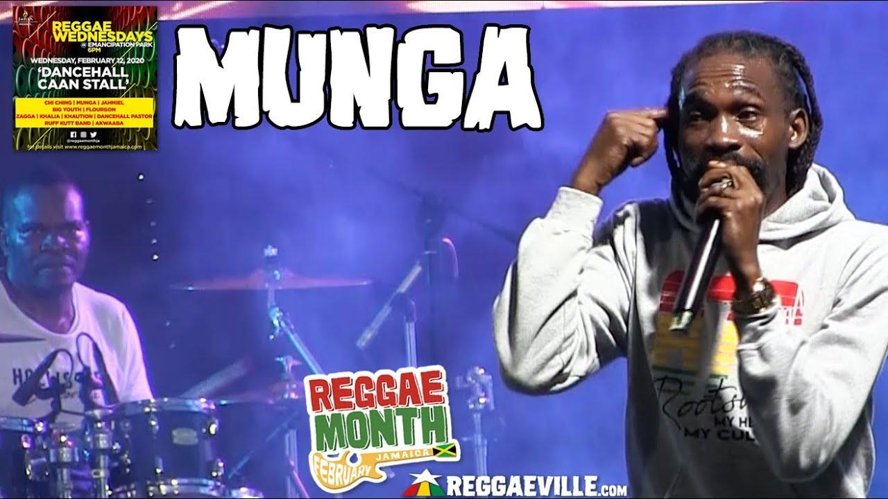 Munga in Kingston, Jamaica @ Reggae Wednesdays - Dancehall Caan Stall 2020 [2/12/2020]