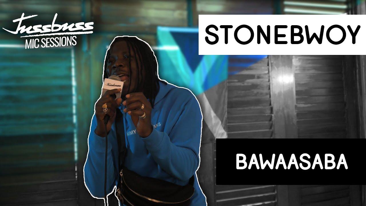 Stonebwoy - Bawasaaba @ Jussbuss Mic Sessions [7/31/2019]