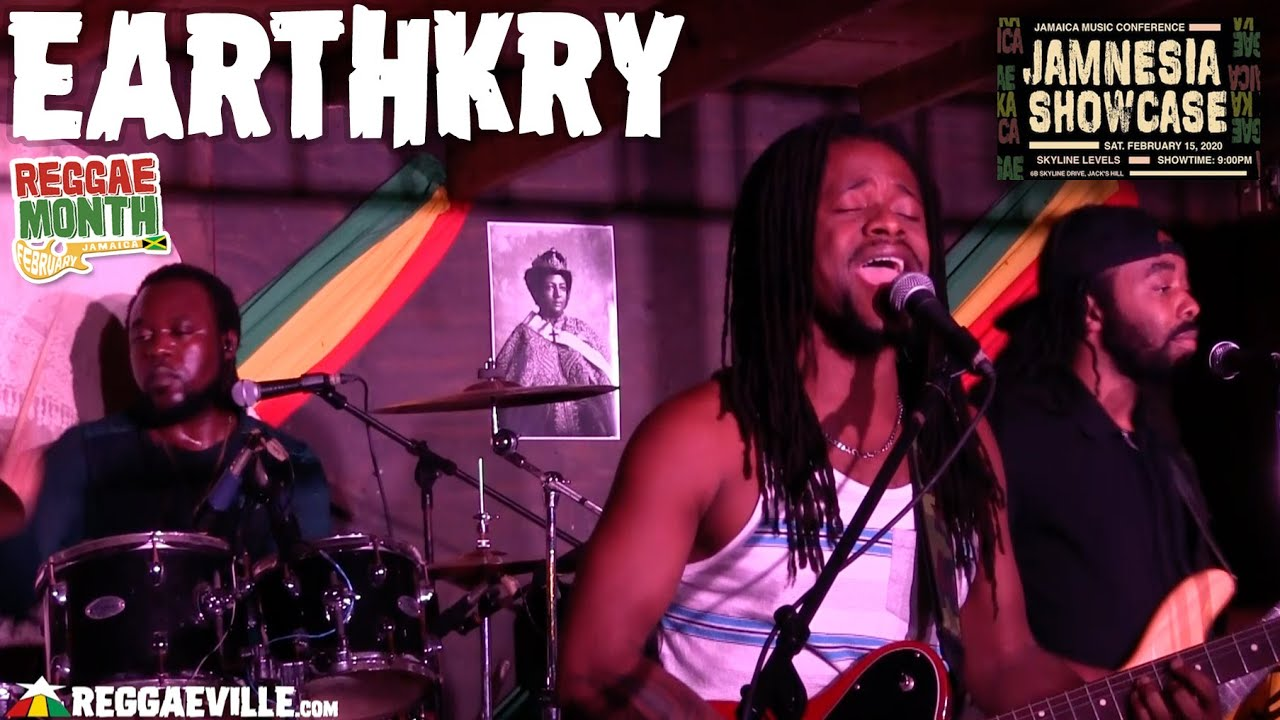 Earthkry in Jamaica @ Jamnesia Showcase 2020 [2/15/2020]