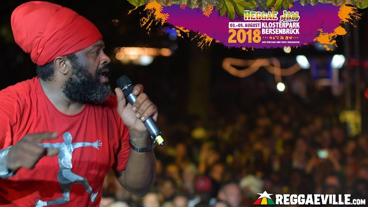 Fantan Mojah @ Reggae Jam 2018 [8/4/2018]