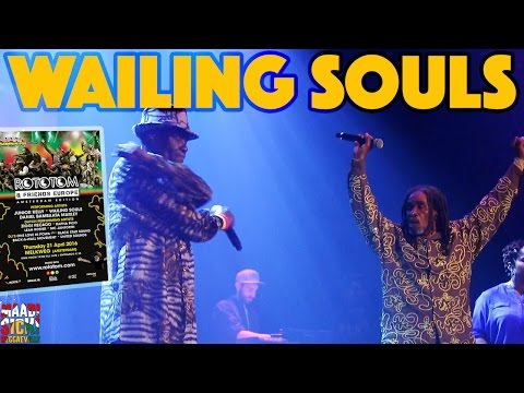 Wailing Souls in Amsterdam @ Rototom & Friends [4/21/2016]