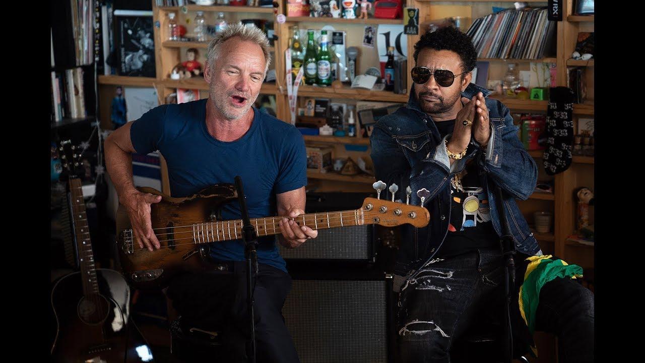 Sting & Shaggy - NPR Music Tiny Desk Concert [7/17/2019]