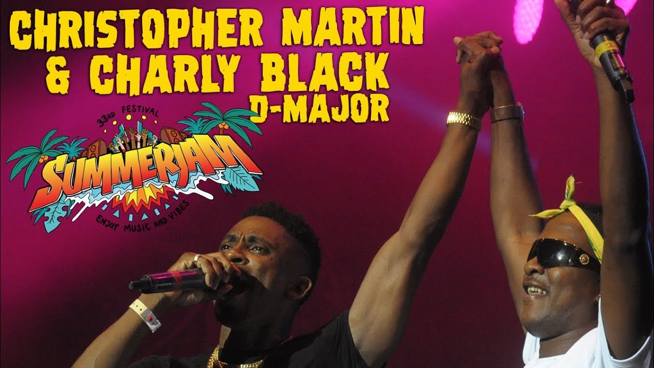 Christopher Martin with Charly Black & D-Major @ SummerJam 2018 [7/6/2018]