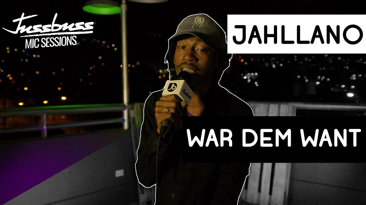 Jahllano - War dem Want @ Jussbuss Mic Sessions [8/7/2019]