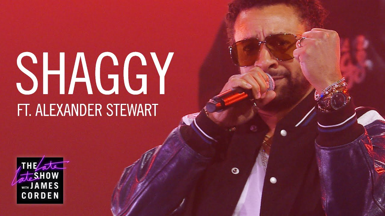 Shaggy feat. Alexander Stewart - You @ The Late Late Show with James Corden [5/3/2019]