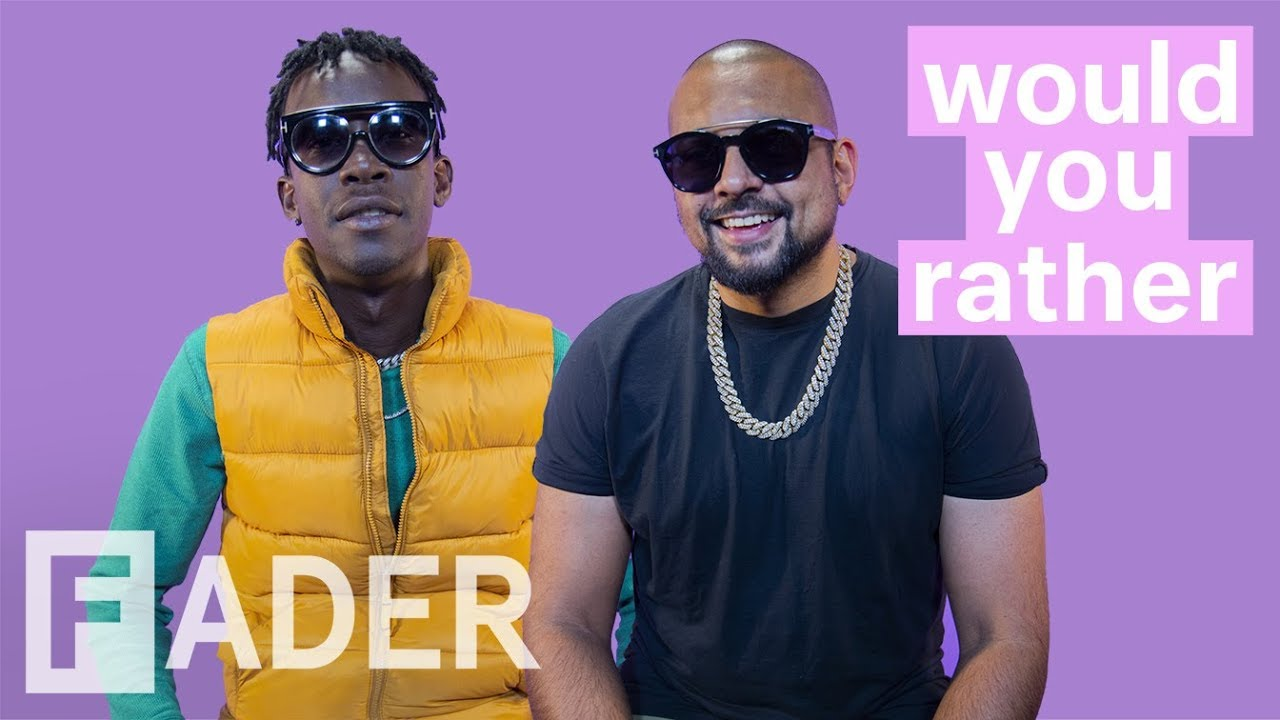 Sean Paul & Chi Ching Ching about Jamaican parties and more @ The Fader [10/10/2018]