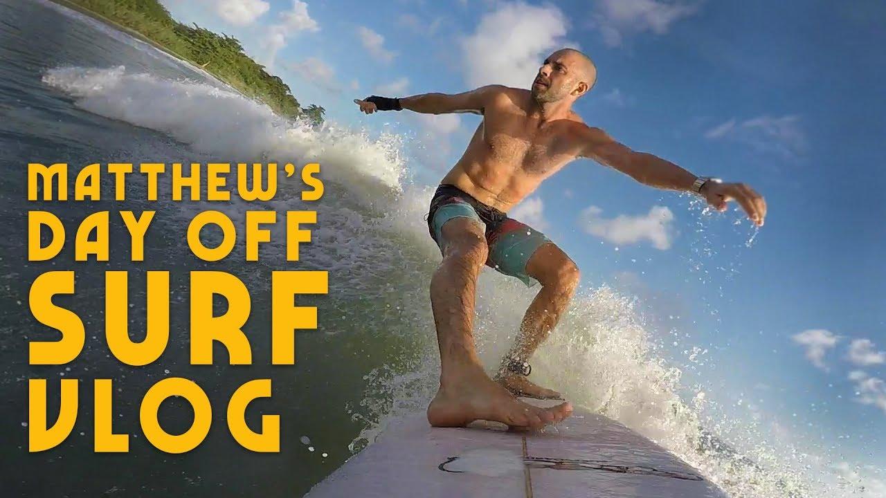 Ras Kitchen - Surf Vibes in Jamaica | Matthew's Day Off VLOG [9/11/2019]