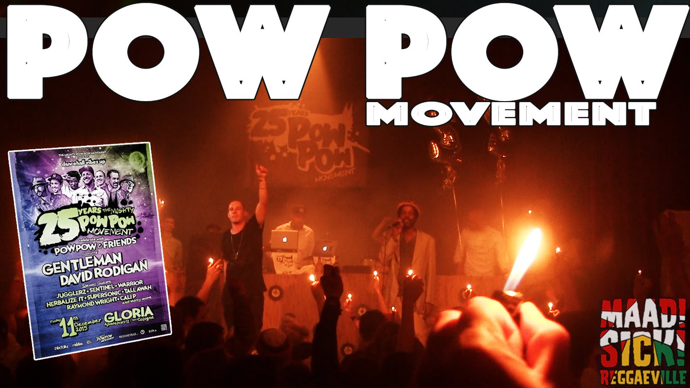 Pow Pow Movement - 25 Years Pow Pow Movement in Cologne, Germany [12/11/2015]