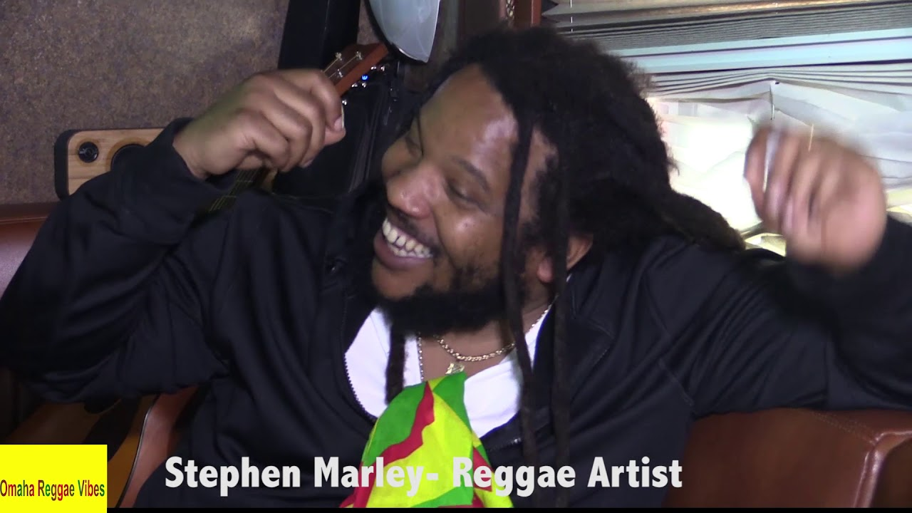 Stephen Marley Interview @ Cali Roots 2018 (Omaha Reggae Vibes) [5/29/2018]