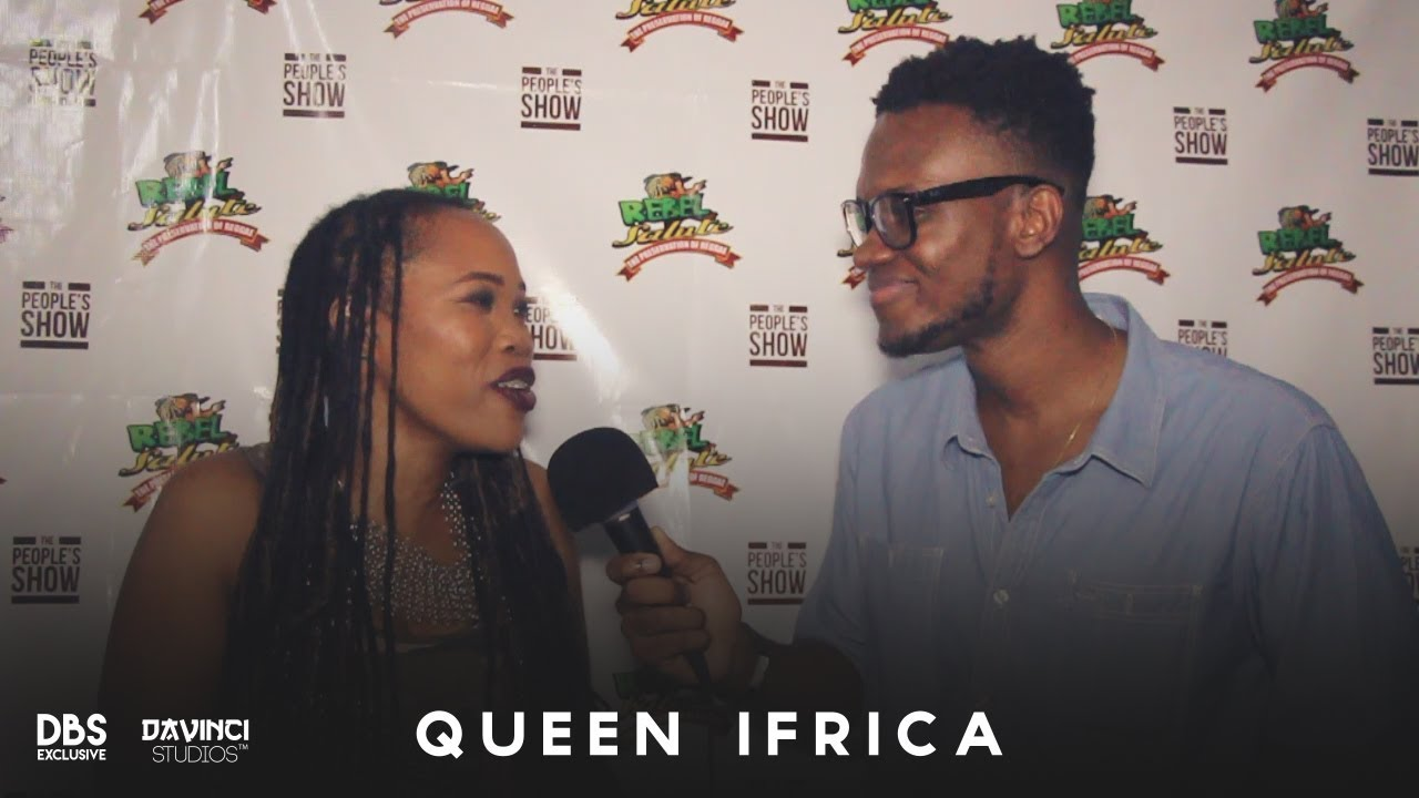 Interview with Queen Ifrica @ Rebel Salute 2018 (Dutty Berry) [1/13/2018]