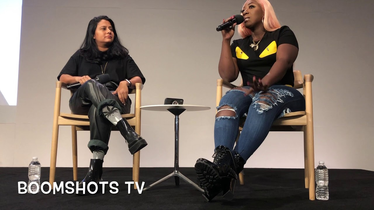 Spice Interview @ Apple Store New York, NY (Boomshots TV) [11/26/2018]
