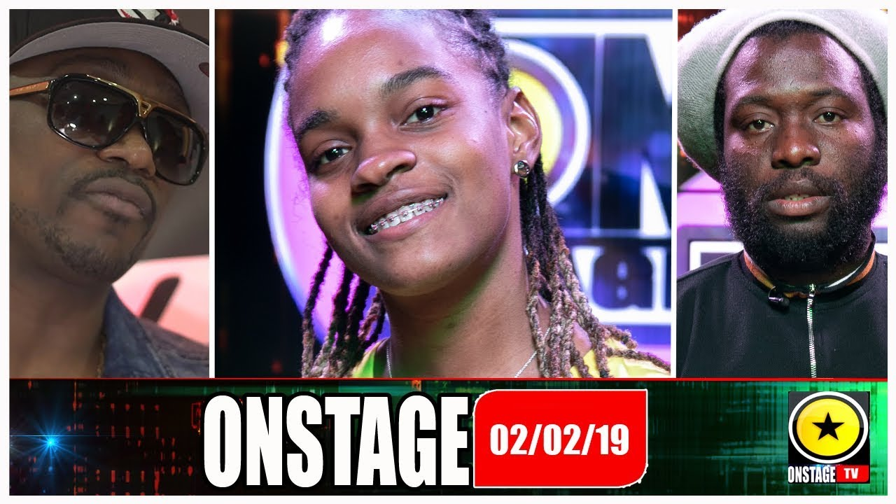Koffee, Iba Mahr, Busy Signal & Stacie Mckenzie @ OnStage TV [2/2/2019]