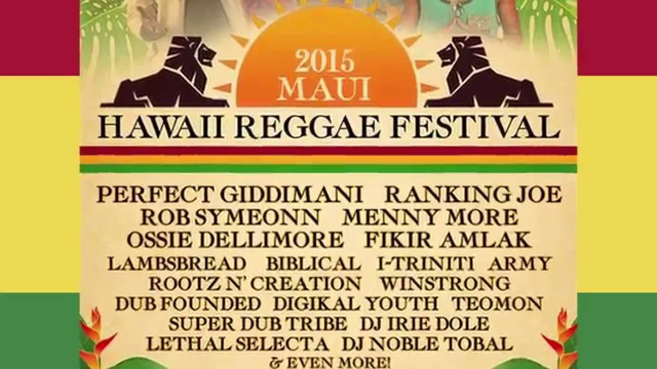 Hawaii Reggae Festival 2015 (Trailer) [4/29/2015]