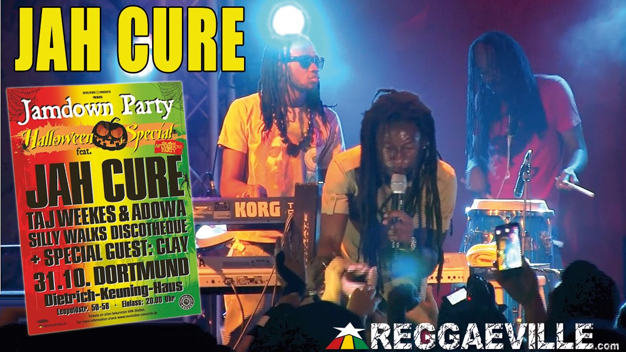Jah Cure - Call On Me @ Jamdown Party in Dortmund, Germany [10/31/2014]