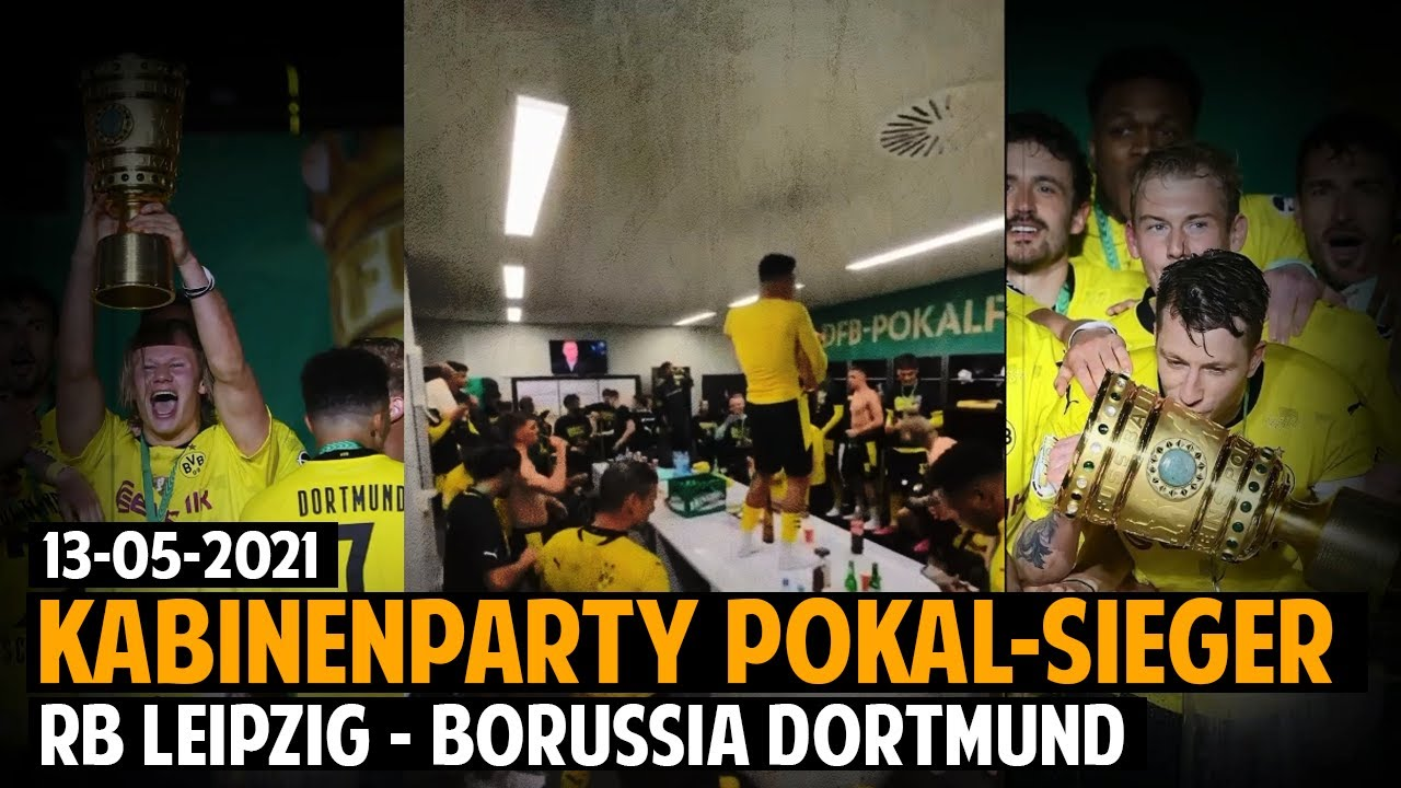 Bob Marley's Three Little Birds @Borussia Dortmund DFB Cup Celebration [5/13/2021]