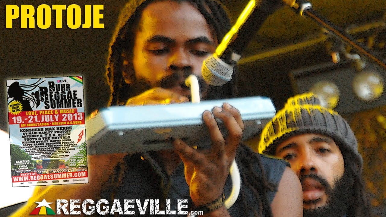 Protoje @Ruhr Reggae Summer [7/20/2013]