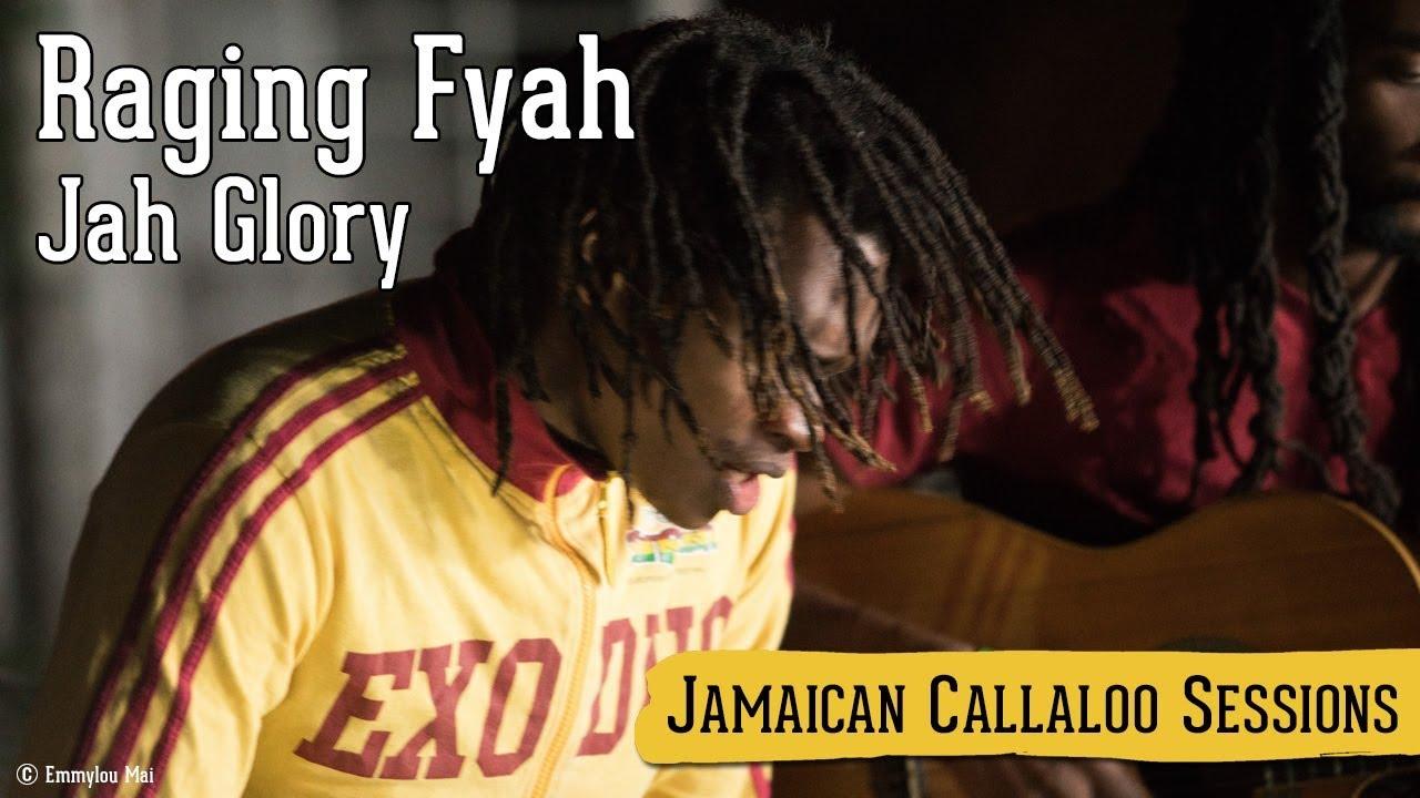 Raging Fyah - Jah Glory @ Jamaican Callaloo Sessions [11/20/2017]