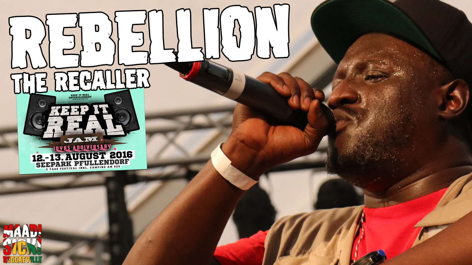Rebellion The Recaller - We Must Rebel @ Keep It Real Jam 2016 [8/13/2016]
