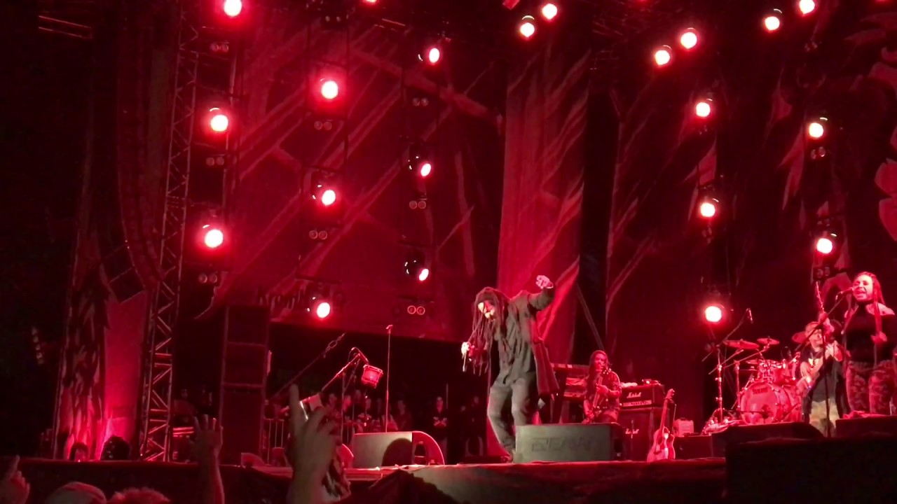 Ky-Mani Marley - Is This Love @Ruhr Reggae Summer 2018 (FanVideo) [8/11/2018]