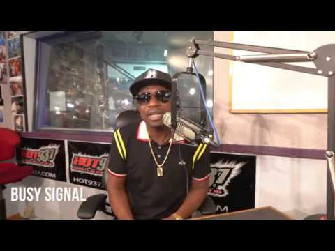 Busy Signal Interview @ HOT 93.7 [9/10/2018]