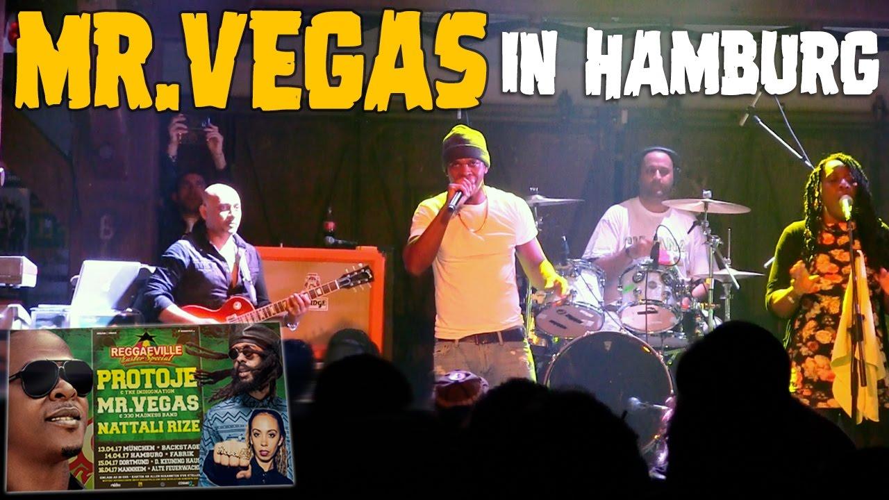 Mr. Vegas in Hamburg, Germany @ Reggaeville Easter Special 2017 [4/14/2017]