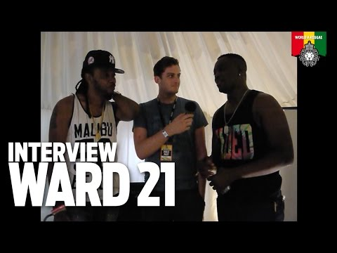 Interview with Ward 21 @ Boomtown Fair 2015 [8/15/2015]