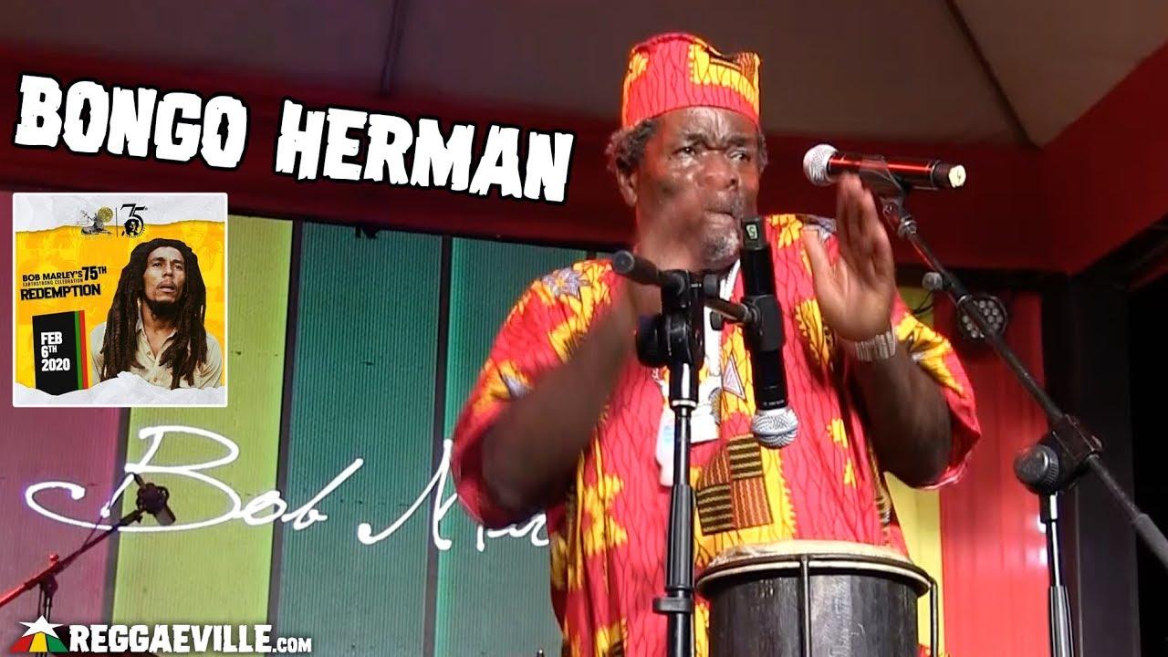 Bongo Herman @ Bob Marley 75th Earthstrong Celebration in Kingston, Jamaica [2/6/2020]